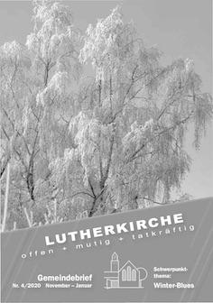 Gemeindebrief 4/2020